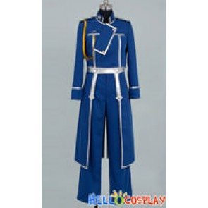 Full Metal Alchemist Roy Mustang Cosplay Costume