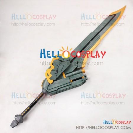 God Eater 2 Cosplay Julius Visconti Sword Gun