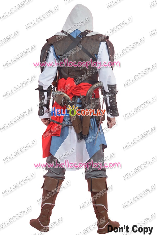 Assassins Creed Iv Black Flag Cosplay Edward James Kenway Costume