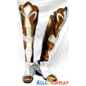 Shining Wind Cosplay Kaito Kiriya Boots