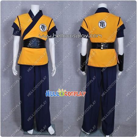 DBZ Dragon Ball Z Cosplay Goku Costume