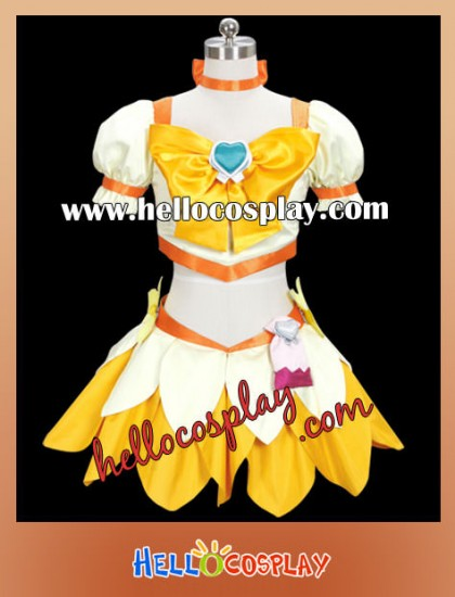 HeartCatch PreCure Cosplay Cure Sunshine Dress