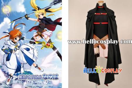 Magical Girl Lyrical Nanoha Cosplay Fate Testarossa Costume
