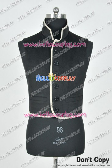 Sleepy Hollow Movie Ichabod Crane Cosplay Costume Vest