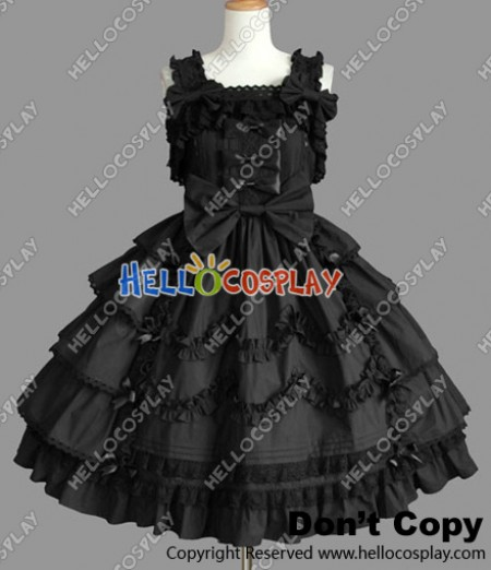 Victorian Gothic Lolita Punk Gorgeous Jumper Skirt Dress