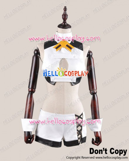 Aquarion Evol Cosplay Zessica Wong White Costume