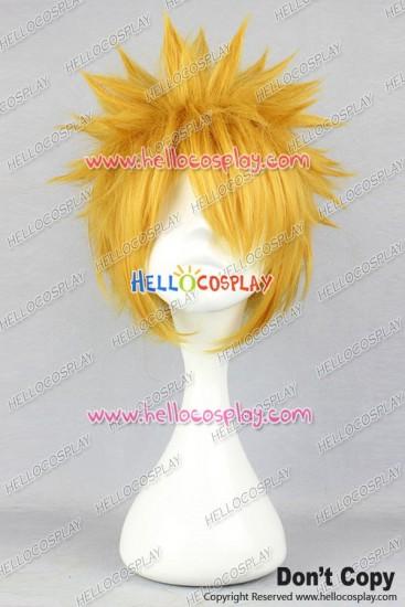 Bleach Ichigo Kurosaki Cosplay Wig Yellow