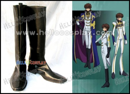 Knights Of Rounds Cosplay Boots From Code Geass