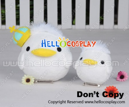 Love Live Cosplay March UR Snowman Christmas Kotori Minami Birds Plush Doll