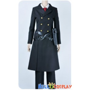 Karneval Cosplay Captain Hirato Costume Black Uniform