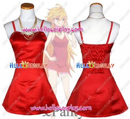 Panty & Stocking With Garterbelt Cosplay Costume Panty Dress