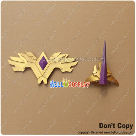 My Little Pony Cosplay Princess Celestia Imperial Crown Headwear Breastplate Badge Prop