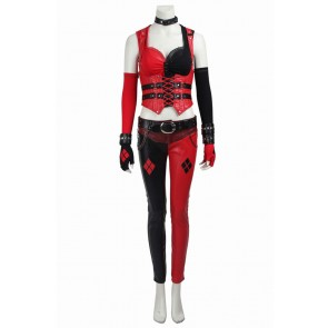 Batman Arkham Knight Harley Quinn Cosplay Costume New