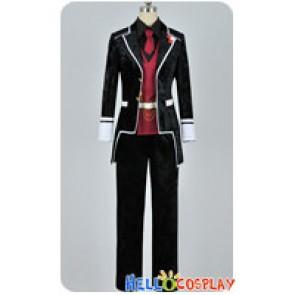 Diabolik Lovers Cosplay Reiji Sakamaki Costume Silk Velvet Ver