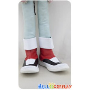 Pokémon Pokemon Cosplay Crystal Red White Shoes