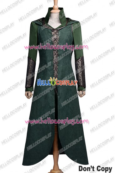 The Hobbit The Desolation of Smaug Tauriel Cosplay Costume