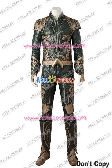 Justice League Aquaman Arthur Curry Cosplay Costume