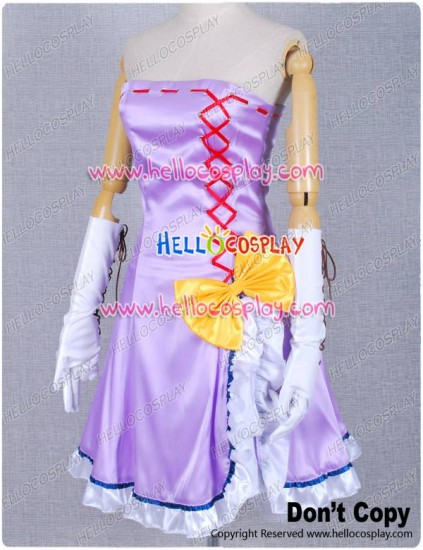 Vocaloid 2 Colorful X Sexy Megurine Luka Cosplay Costume