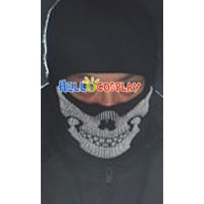 "Call Of Duty Mask Modern Warfare 2 Simon ""Ghost"" Riley Cosplay M"