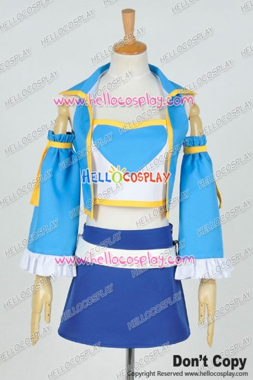 Fairy Tail Seven Years After Cosplay Lucy Heartfilia Costume Uniform
