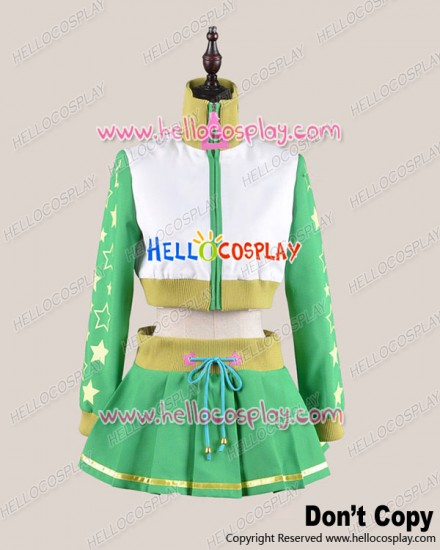 Vocaloid Project DIVA 2 Cosplay Hatsune Miku Green Costume