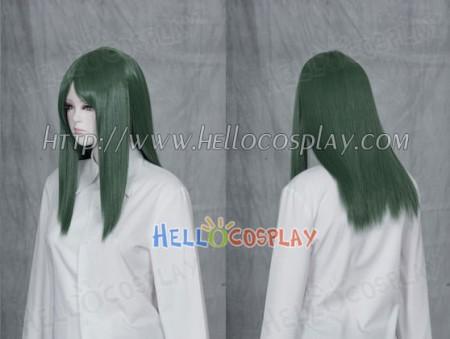 Dark Green 50cm Cosplay Straight Wig