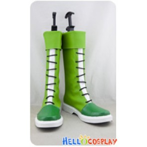 Hunter X Hunter Cosplay Shoes Gon Freecss Boots Green