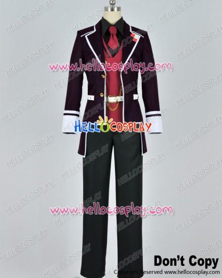 Diabolik Lovers Cosplay Reiji Sakamaki Purple Uniform Costume