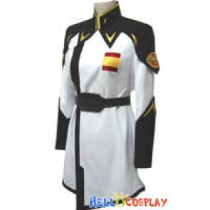 Yzak Joule Z.A.F.T Cosplay Uniform From Gundam Seed Destiny