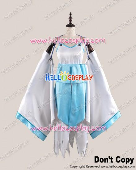 Brave Ten Cosplay Isanami Satin Dress Costume