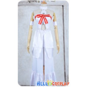Sword Art Online Asuna Yuuki Cosplay Costume Dress