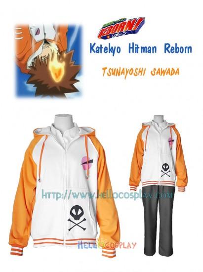 Katekyo Hitman Reborn Tsunayoshi Sawada Casual wear