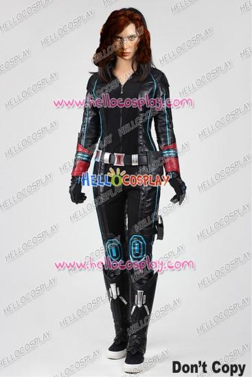 Avengers Age Of Ultron Black Widow Cosplay Uniform