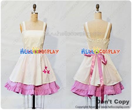 My Little Pony Cosplay Fluttershy Costume Retro Style Dress