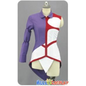 Dokidoki PreCure Cosplay Mammo Purple Dress Costume