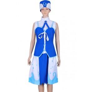 Fairy Tail Juvia Loxar Cosplay Costume Dress