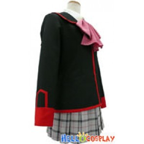 Little Busters Cosplay School Girl Uniform