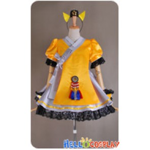 Vocaloid 3 Cosplay SeeU Costume Uniform Dress