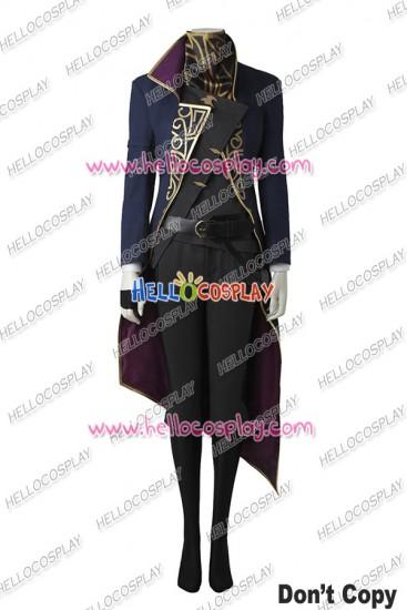 Dishonored 2 Emily Kaldwin Cosplay Costume Uniform