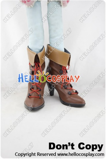 Macross Frontier Cosplay Sheryl Nome Short Boots