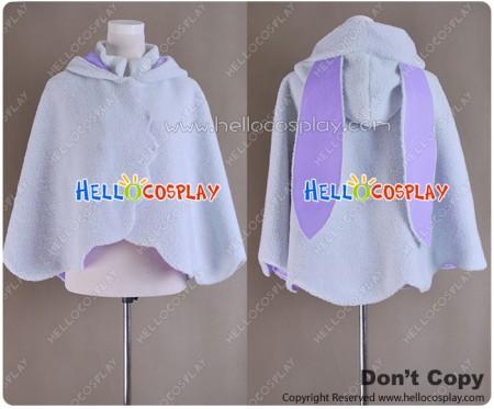 Vocaloid 2 Cosplay Hatsune Miku Rabbit Cloak Cape