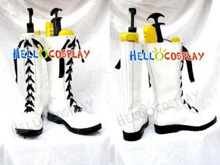 Black Butler Ciel Phantomhive Cosplay Boots White