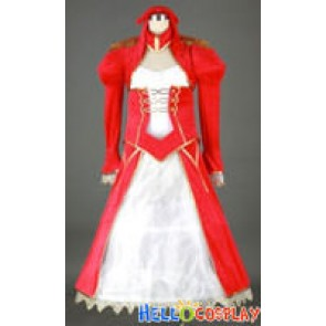 Saber Fate/EXTRA Cosplay Nero Red Saber Dress