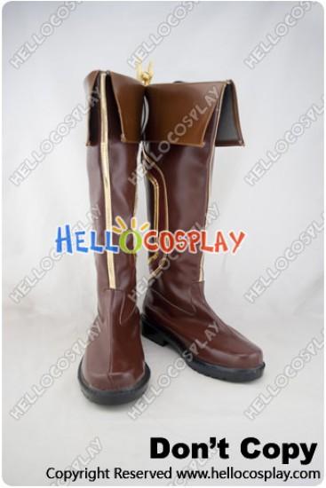 League Of Legends Cosplay Garen Brown Boots