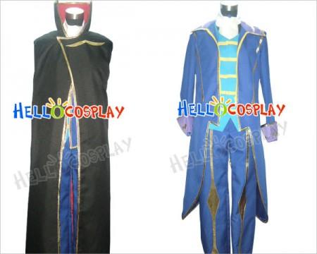 Code Geass Zero Cosplay Costume