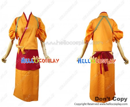 Hanasaku Iroha Cosplay Matsumae Ohana Costume Kimono