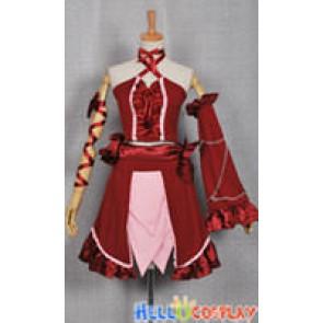 Vocaloid 2 Dress Cantarella Hatsune Miku Red Costume