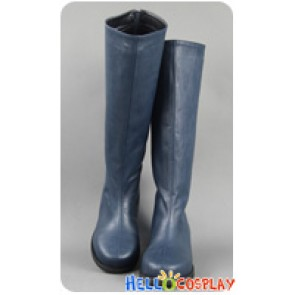 Final Fantasy X 10 Cosplay Yuna Zipper Long Boots