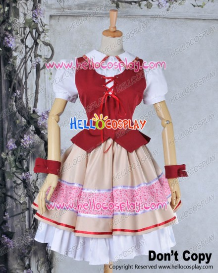 AKB0048 Cosplay Nagisa Motomiya Costume Dress