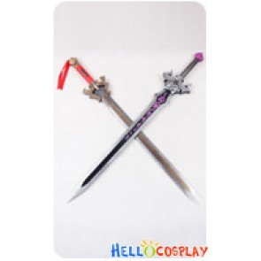 Dynasty Warriors 7 Cosplay Liu Bei Double-Stranded Sword